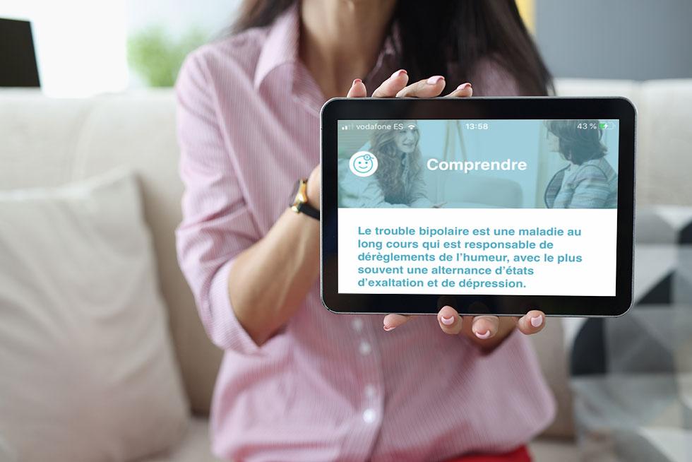 Diffusion d'une e-brochure sur les patients et les aidants auprès du corps médical