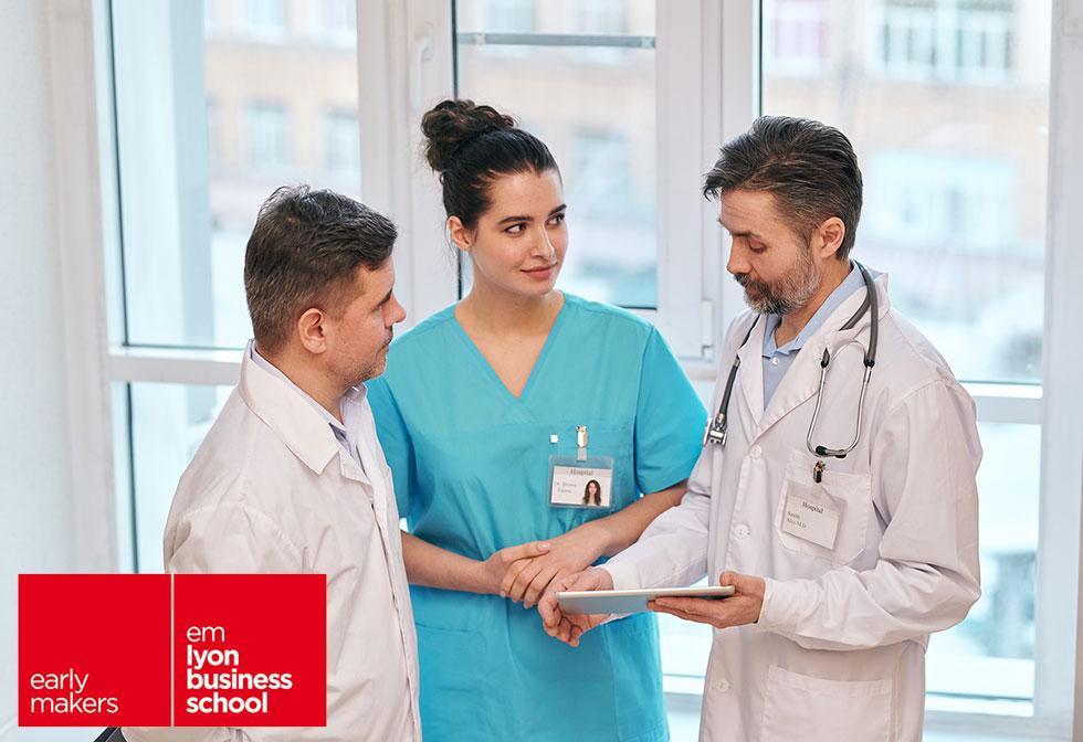 Soutien d'une équipe de médecins et de pharmaciens de l'EM Lyon