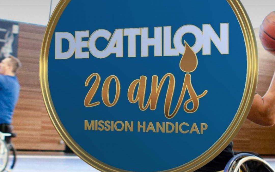 Olivier Galli, Film réalisé pour les 20 ans de la mission Handicap Decathlon France