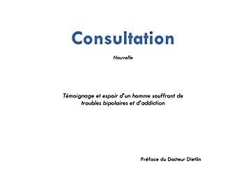 Consultation, Nouvelle de Emmanuel Urbu