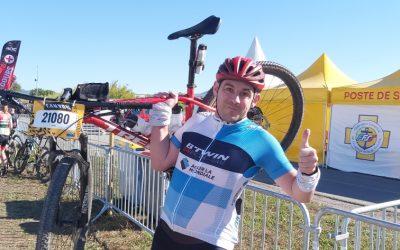 Notre ambassadeur sportif sur le Roc d'Azur – La plus grande manifestation de VTT au Monde